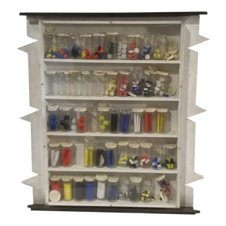 James Spencer Russell Medicine Cabinet Installation Piece For Sale