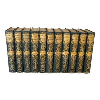 Set of 19th Century Muhlbach Historical Books, 11 Volumes For Sale