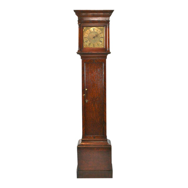 English Tall Case Clock For Sale