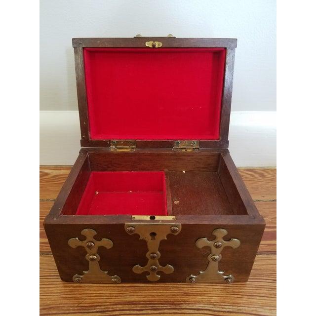 Spanish Brass Detail Music Box - Image 3 of 4