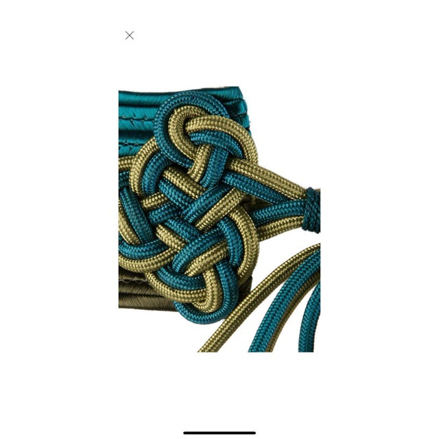 Vintage Yves Saint Laurent Russian Collection Passementerie Tassel Belt Ysl For Sale - Image 11 of 12