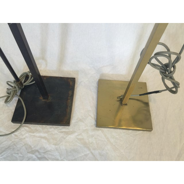 Vintage Laurel Adjustable Floor Lamps - A Pair - Image 4 of 11