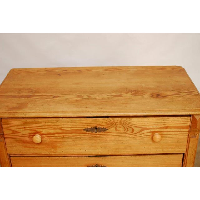19th Century French Pine Commode - Image 6 of 7