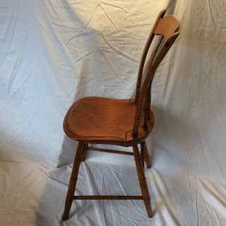 """Antique 1840's Arrow Back/Stick Back """"Windsor"""" Side Chair Preview"""
