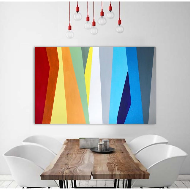 'Prismatic' Original Abstract Painting by Linnea Heide For Sale - Image 4 of 8