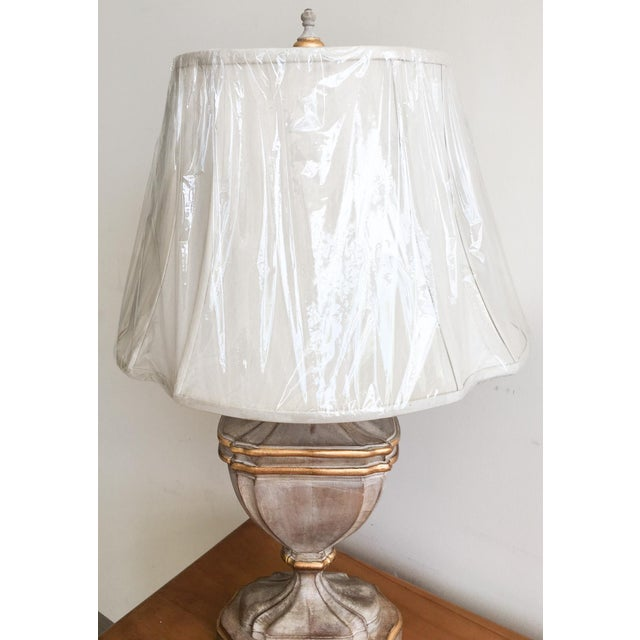 Bradburn Gallery French-Style Urn Lamp with Shade For Sale - Image 4 of 7