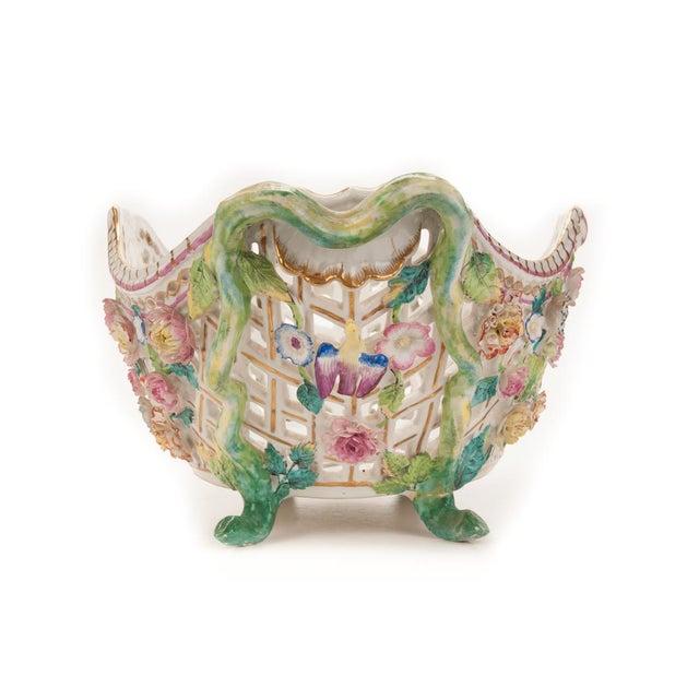 Herend Antique 16' Porcelain Centerpiece - Image 4 of 10