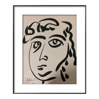 Peter Keil Abstract Face Painting For Sale