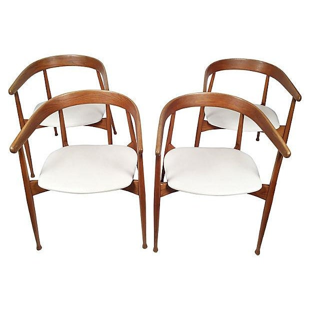 Danish Mid Century Modern Chairs - S/4 - Image 3 of 7