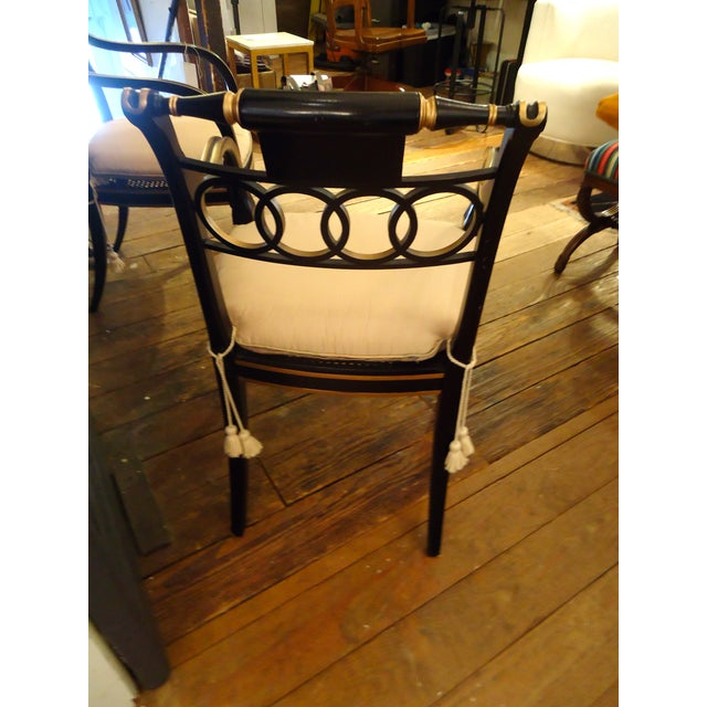 Regency Style Armchairs by Baker - Pair - Image 3 of 4