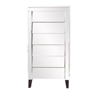 Modern Mirrored Tall Dresser