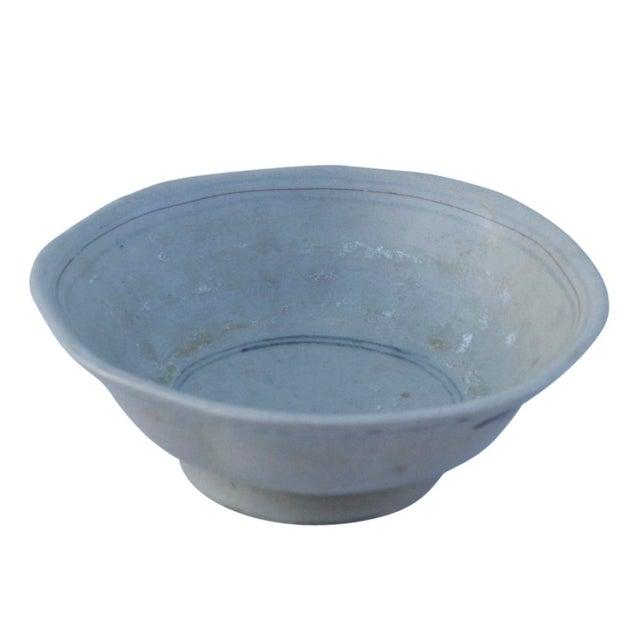 Antique Shanxi Porcelain Bowl For Sale - Image 5 of 6