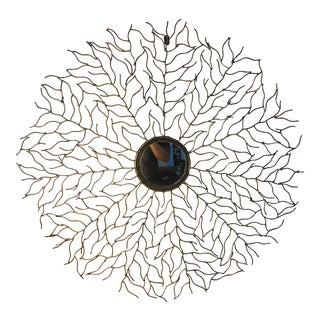 Modern Abstract Decorative Wall Mirror For Sale