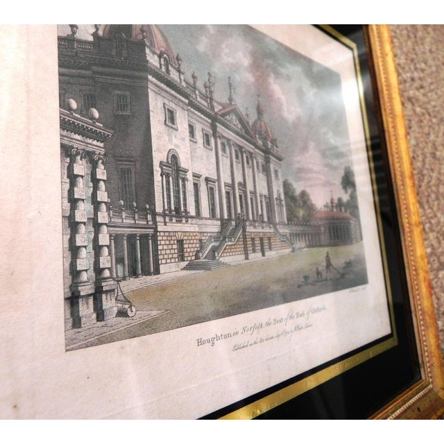 Antique English Architectural Engravings - Set of 4 - Image 4 of 8