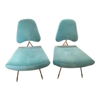Jonathan Adler Maxime Lounge Chairs - a Pair For Sale