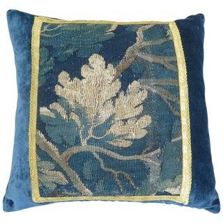 18th Century Maison Maison Verdure Tapestry Pillow For Sale