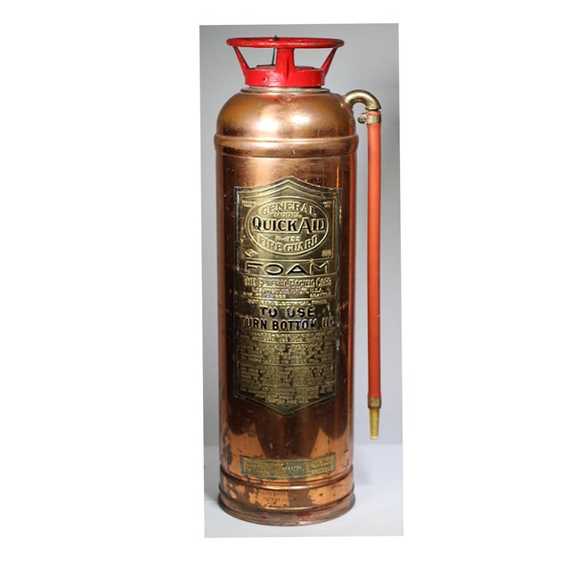 Brass and Copper Fire Extingusher - Image 2 of 3