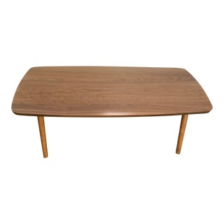 Mid-Century Folding Coffee Table For Sale