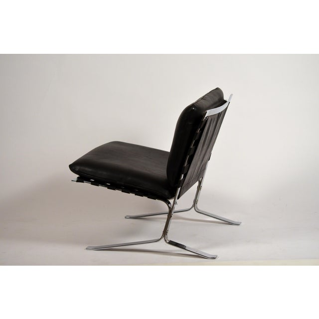 Black Original 'Joker' Lounge Chairs by Olivier Mourgue for Airborne - a Pair For Sale - Image 8 of 12