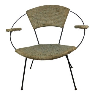1950s Mid-Century Modern Joseph Cicchelli Circle Chair With Arms For Sale