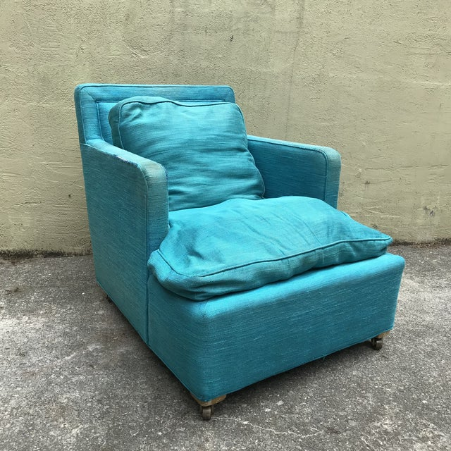 Lounge Chair Designed by Edward Wormley for Dunbar For Sale - Image 10 of 10