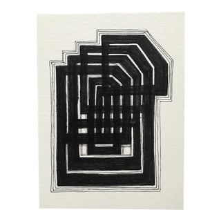 "Original Drawing ""The Maze I"" by Christy Almond"