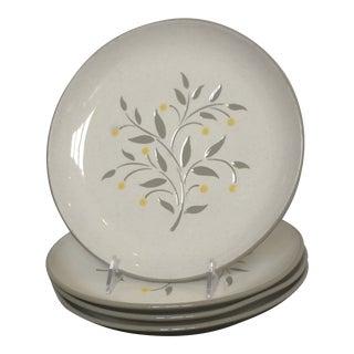 Harker Stoneware Lemon Tree Plates & Platter - 5 Pc. Set