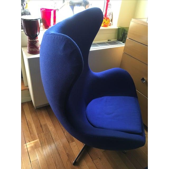 Arne Jacobsen Egg Chair by Fritz Hansen - Image 3 of 8
