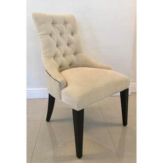 Restoration Hardware Martine Tufted Dining Chairs - a Pair Preview