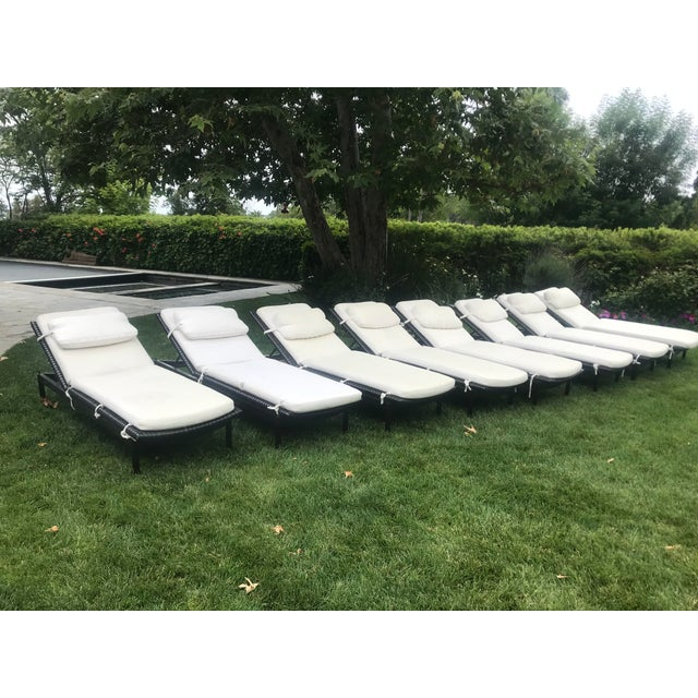 2010s McGuire Antalya Chaise Lounges-a Pair For Sale - Image 5 of 13