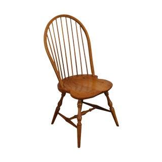 Martins Chair Shop Inc Custom Walnut Windsor Side Chair For Sale