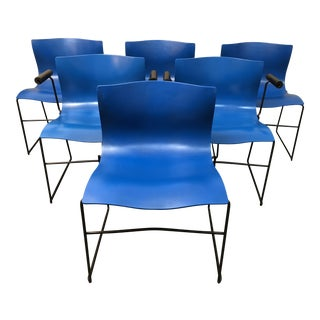 Vignelli Designs for Knoll Handkerchief Dining Chairs - Set of 6