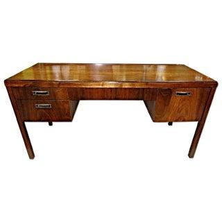 Mid-Century Modern Mahogany Desk For Sale