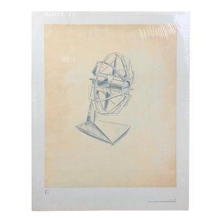 Original Mid Century Modern Artwork by Industrial Artist Otto Claus Huckenbeck For Sale