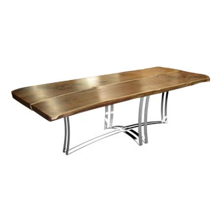 Yachtstar Live Edge Dining Table 1 For Sale