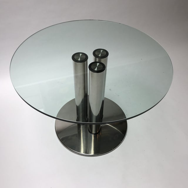 Transparent Marcuso Dining Table for Zanotta For Sale - Image 8 of 13