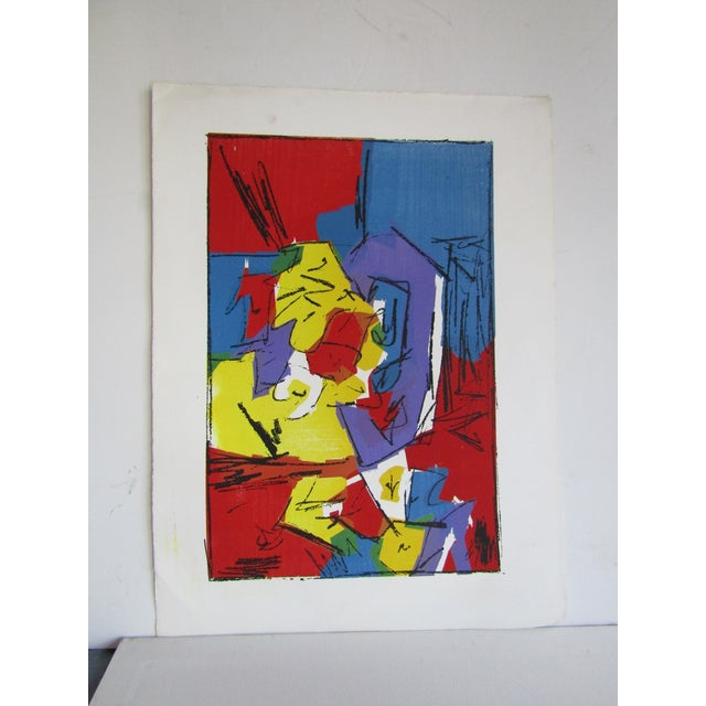 """Harris Strong Original Abstract """"Strong Gallery"""" Serigraph by Harris Strong For Sale - Image 4 of 4"""