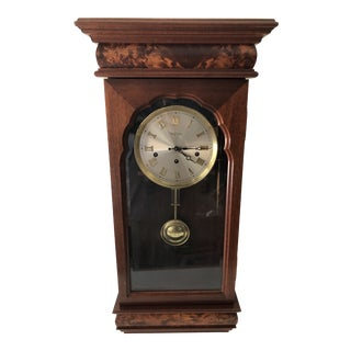 1980s W. K. Sessions Wall Clock For Sale