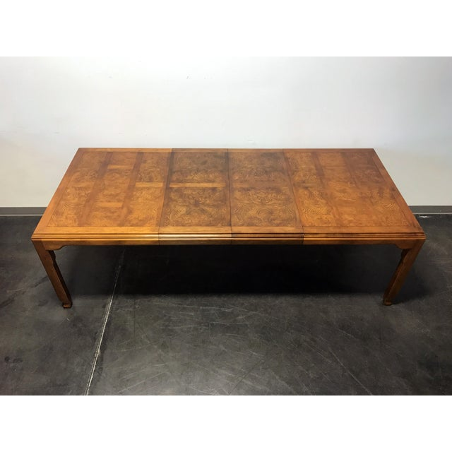 CENTURY Chin Hua by Raymond K Sobota Asian Chinoiserie Dining Table For Sale - Image 10 of 11