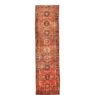 "Antique Persian Karaja Runner. 3'10""x 15'3"" For Sale"
