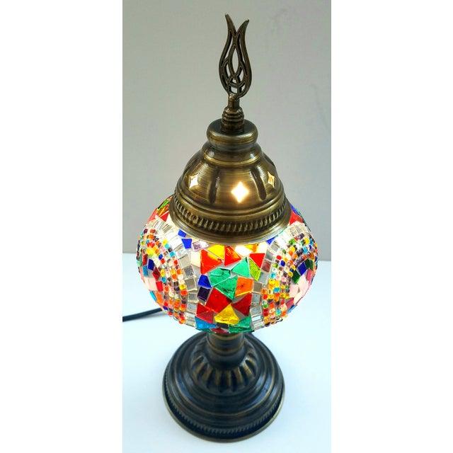 Handmade Mosaic Table Lamp - Image 4 of 4