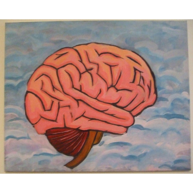 2010s Painting on the Brain For Sale - Image 5 of 5