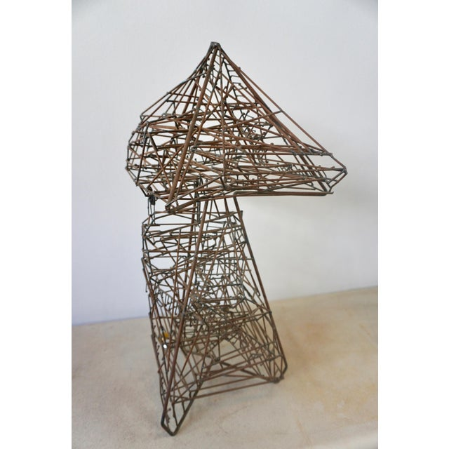 Guy Pullen 1960s Abstract Guy Pullen Wire Sculpture For Sale - Image 4 of 8