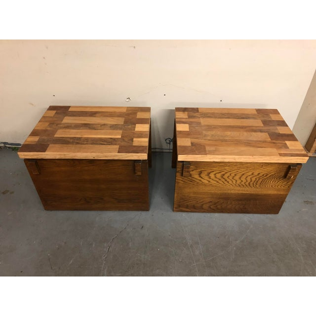 Lane Furniture 1970s Mid Century Modern Lane End Tables - a Pair For Sale - Image 4 of 9