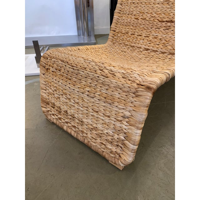 Metal 1980s Tito Agnoli P3 Rattan Lounge Chairs- a Pair For Sale - Image 7 of 12
