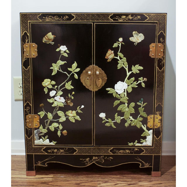 Vintage Hand-Painted Asian Chest - Image 2 of 6