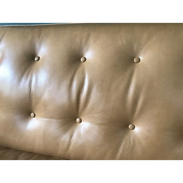 "Animal Skin Wells 89"" Sofa From Room and Board For Sale - Image 7 of 13"