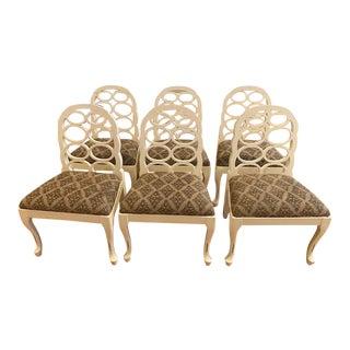 Modern Loop Dining Chairs- Set of 6