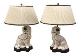 Image of English Traditional Table Lamps