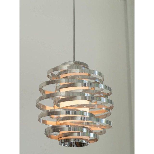 Sciolari aluminium pendant. Beautiful modern design!